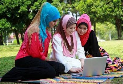 Hijab moderne pour filles
