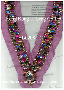 Beads And Sequins Applique Manufacturer - Hong Kong Li Seng Co Ltd