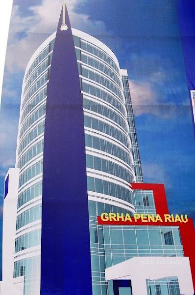 Graha Pena Riau - Gedung, Bangunan Tertinggi di Pekanbaru