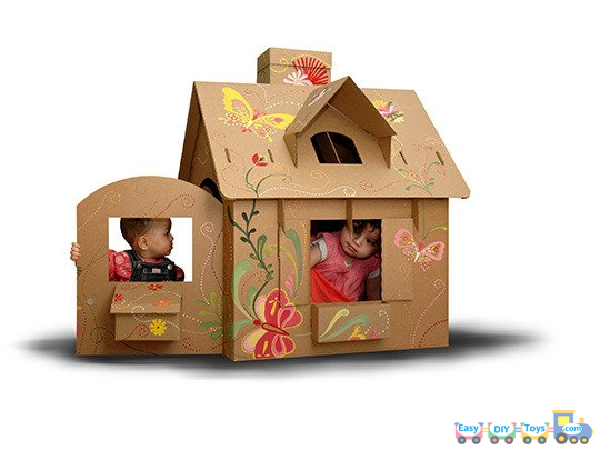 Toys For House : Ideas and details guides for homemade paper toy houses