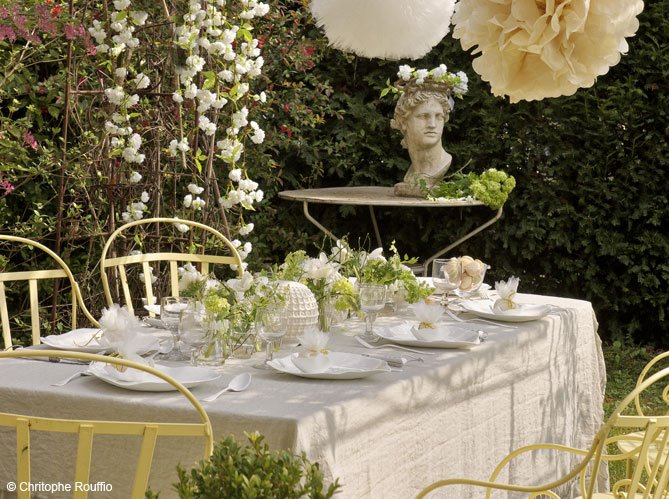 Hydrangea Hill Cottage French Country Decorating: Hydrangea Hill Cottage: Dining Al Fresco II