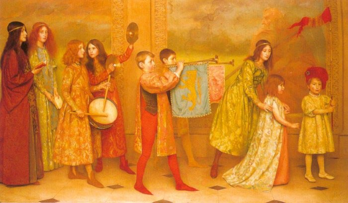 Thomas Cooper Gotch childhood