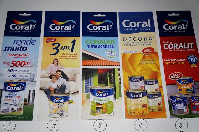 produtos das Tintas Coral - Design Essencial 2013