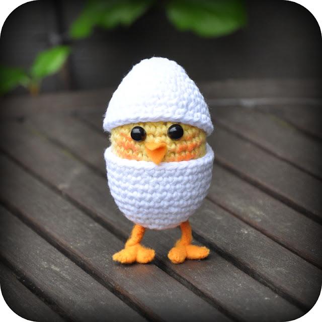 Amigurumi Baby Haakpatroon : Grietjekarwietje.blogspot.com: Haakpatroon: Kuikentje in ...