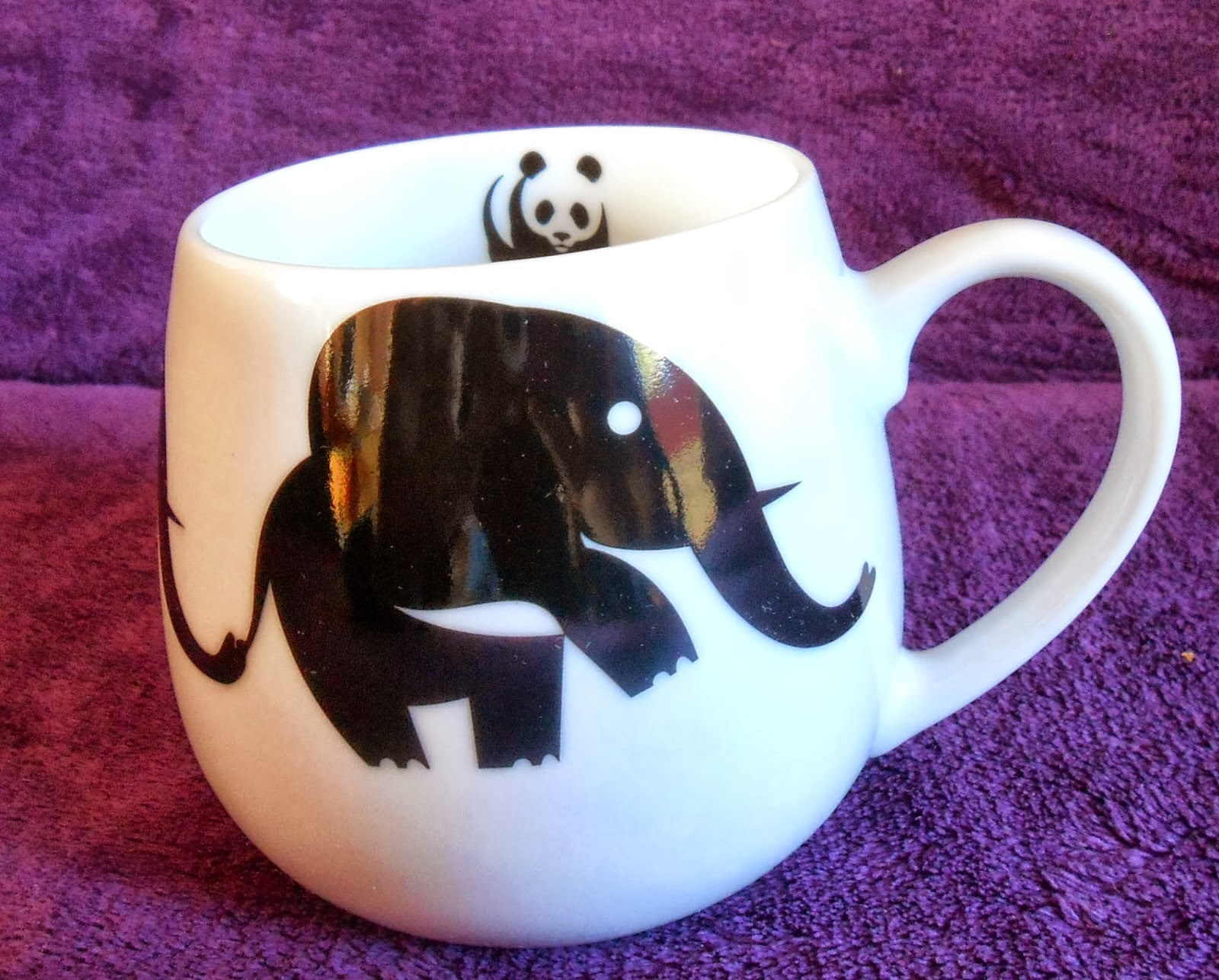 WWF Snuggle Mug Elephant