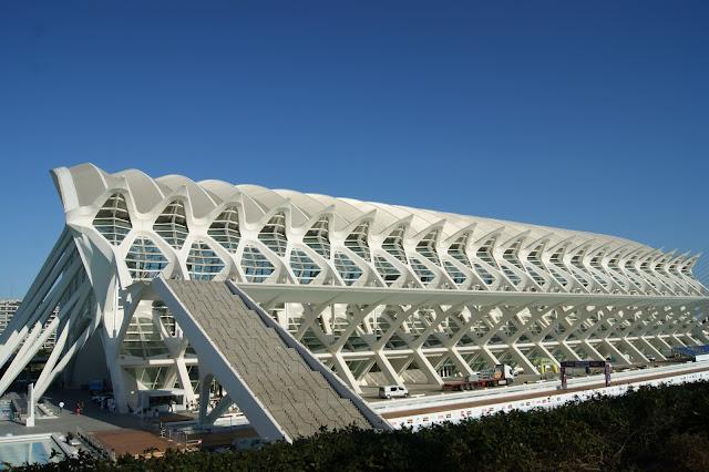 valencia museo della scienza principe felipe