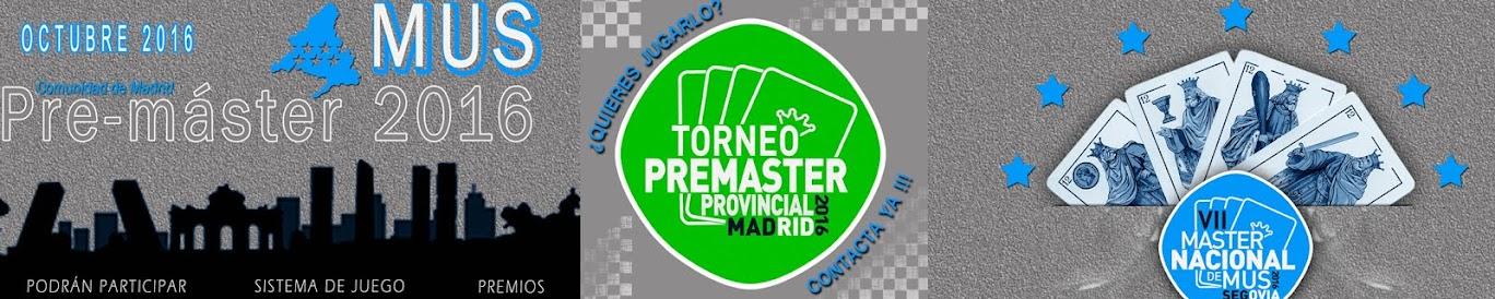 PreMáster Mus Comunidad de Madrid 2016