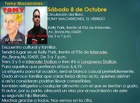 Circulación del libro: TOMY MACARRONES, EL HÍBRIDO