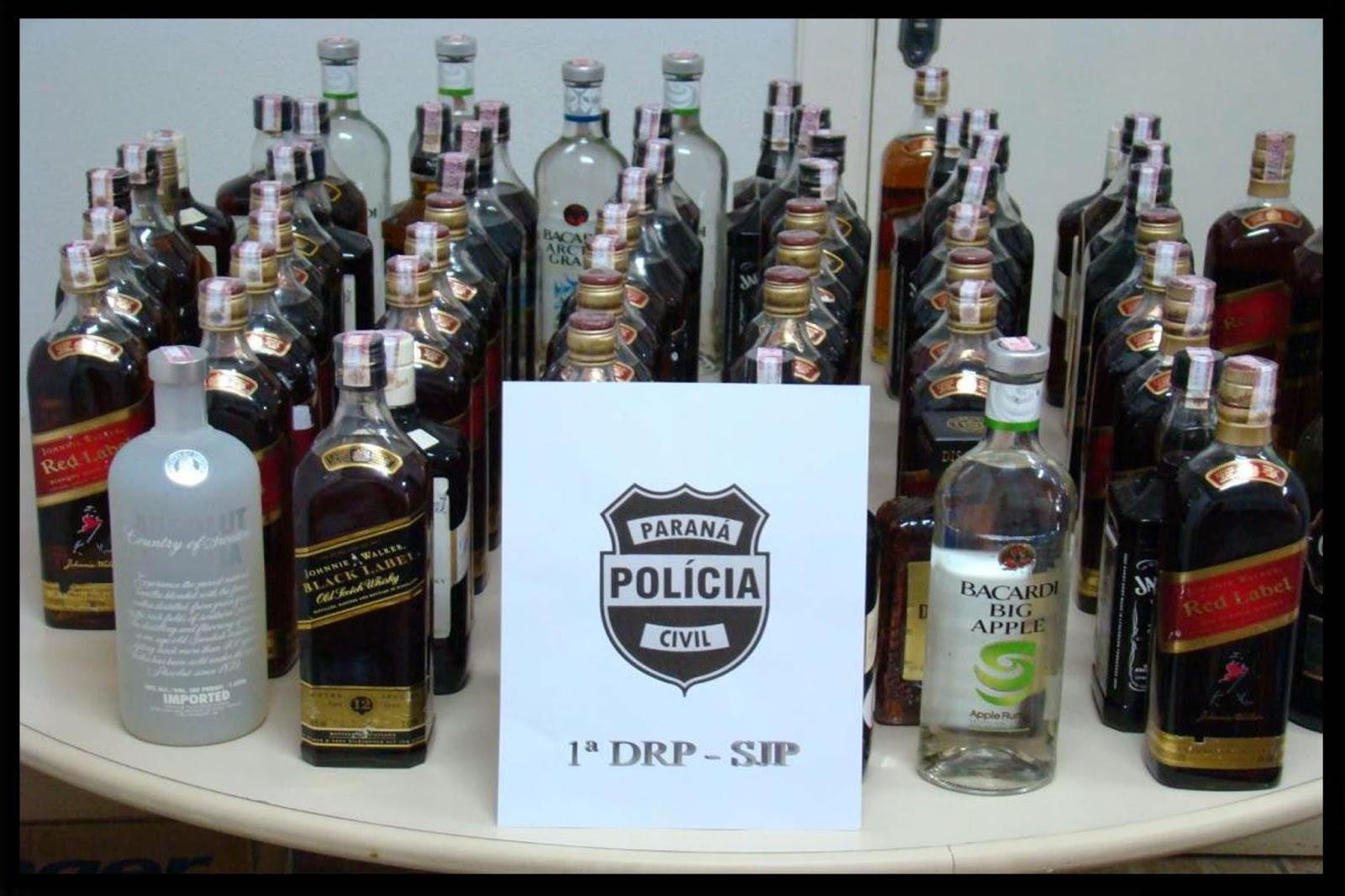 bebidas falsificadas