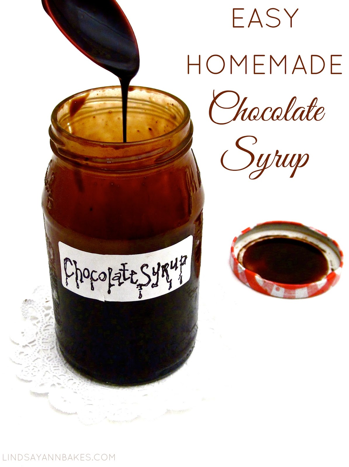 Easy Homemade Chocolate Syrup (Less than 5 ingredients in less ...