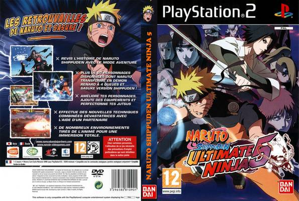 Naruto Shippuden Ultimate Ninja 5 PS2