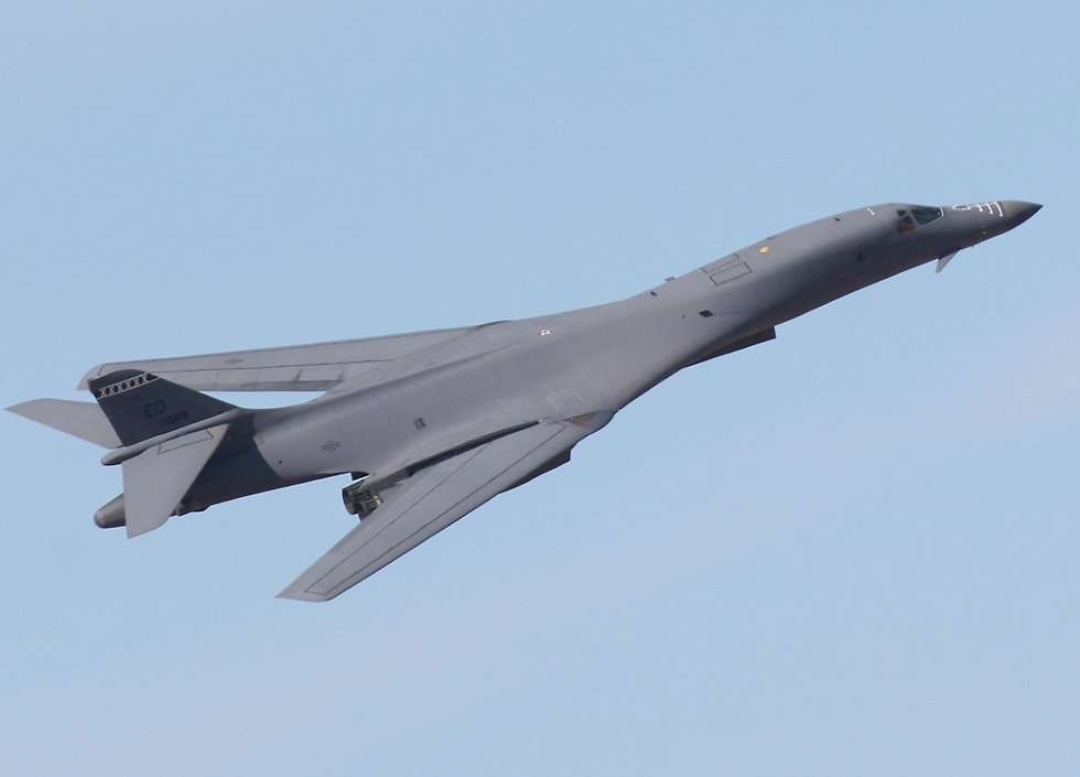 B-1 Lancer Long-range Supersonic Bomber Aircraft | Fighter ... B1 Lancer Supersonic