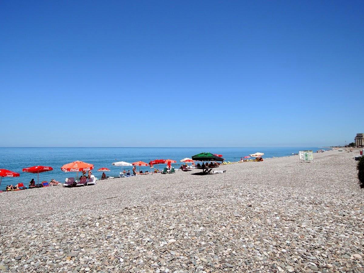 вид на море с пляжа в Квариати