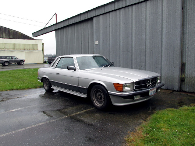 Seattle 39 s classics 1979 mercedes benz 450slc amg for Mercedes benz seattle