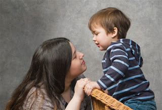 mother, parent, child, eye-level, cooperative kids, love limits lessons