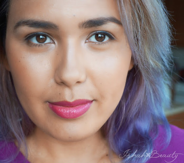 Ishah x Beauty: Brown to Purple Ombre Hair using ION Color ...