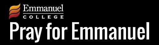 Pray for Emmanuel