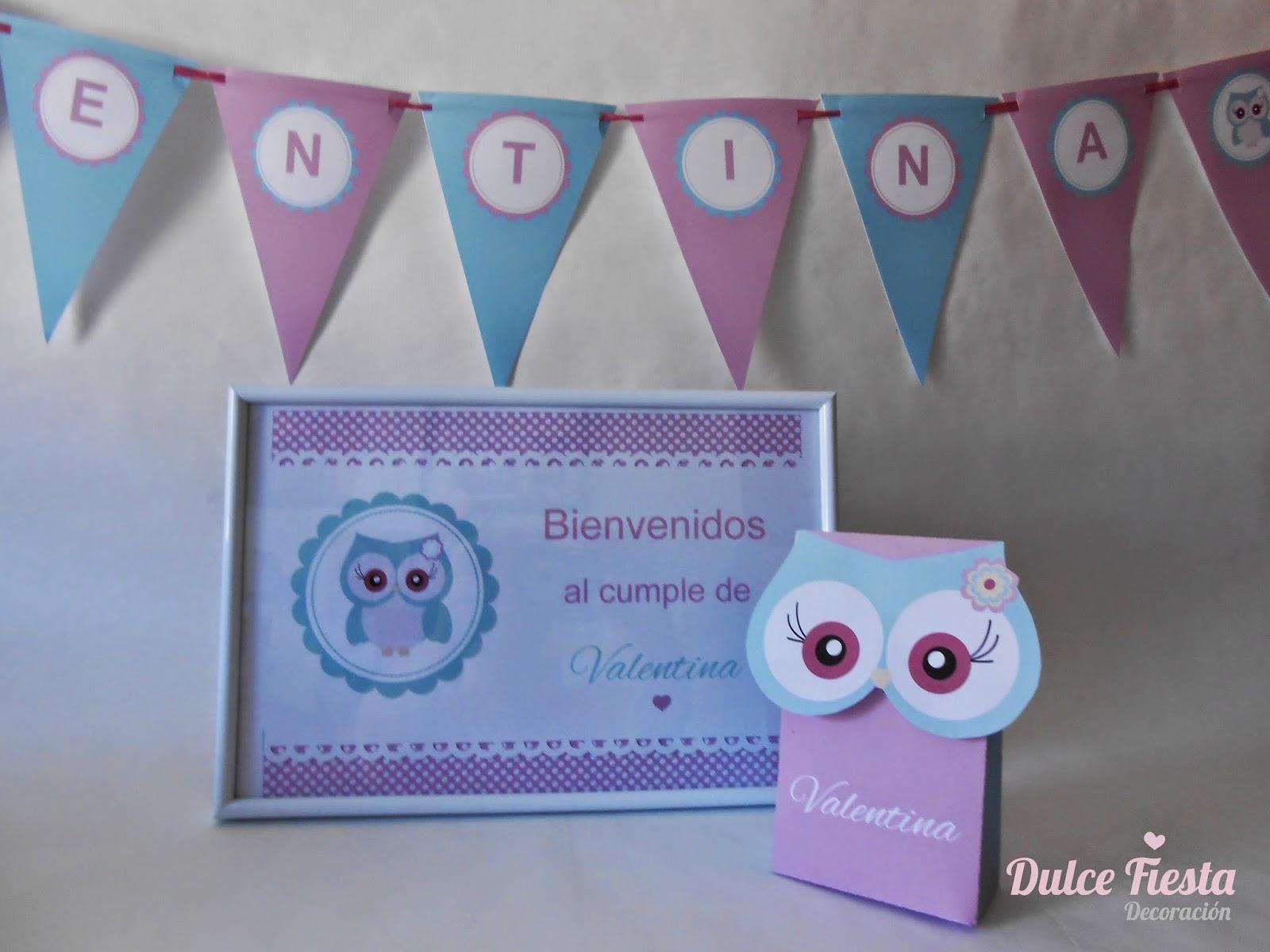 Kit imprimible cartel de bienvenidos e invitaciones de cumpleaños
