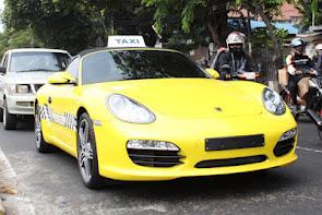 Taxi Ferrari Indonesia Angkutan Liar Tidak Berizin