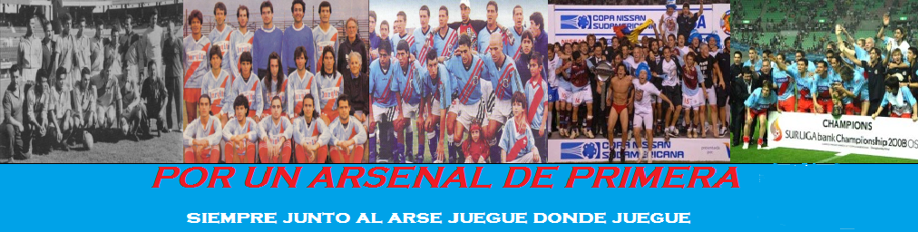 Plantel de Arsenal Fútbol Club