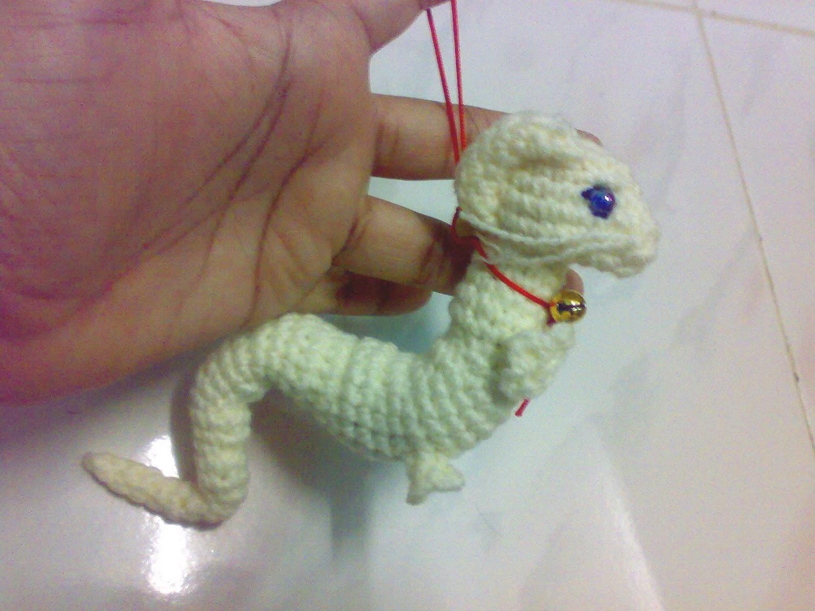 Baby Dragon Amigurumi Pattern : My Skills Guide: Baby Asian Dragon Amigurumi