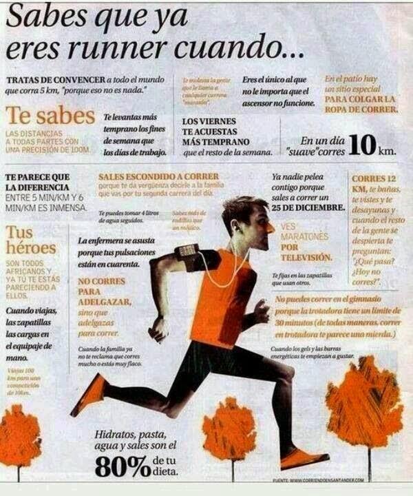 Sabes que eres un runner...
