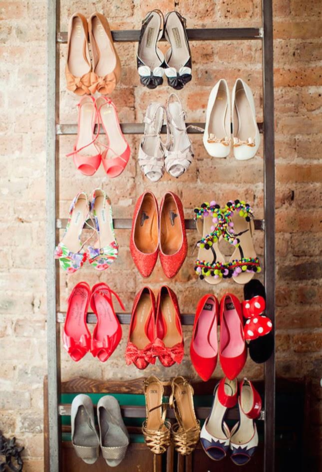 10 Maneras de Organizar y Almacenar Zapatos