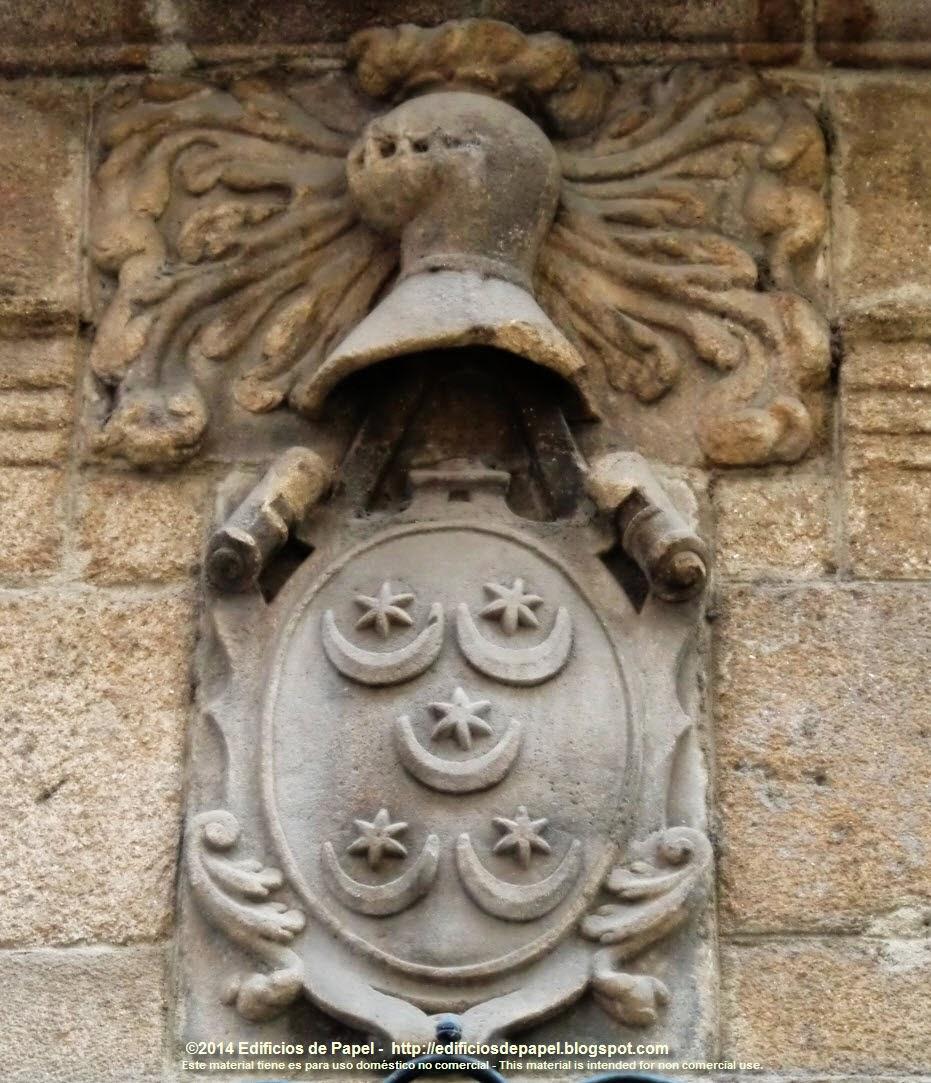 Escudo en Ourense