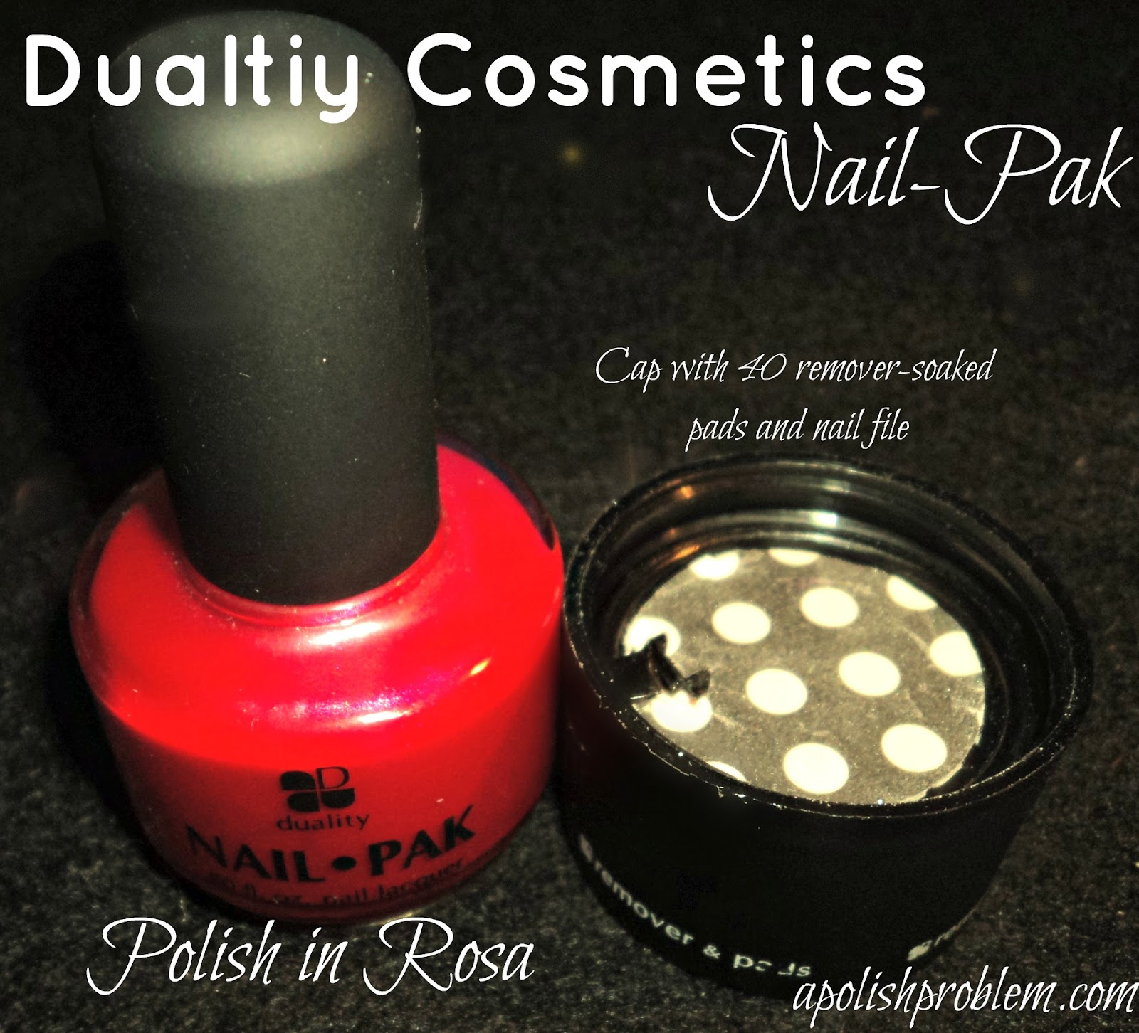 A Polish Problem: Duality Cosmetics Nail-Pak Product Review