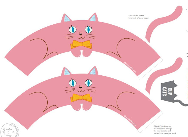 molde de gatinho