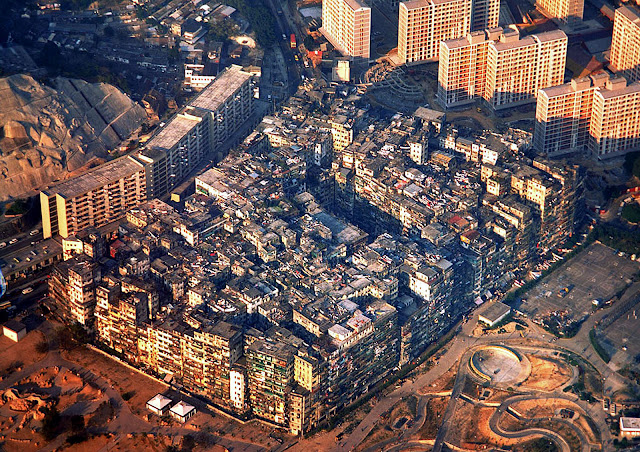 kowloon walled formigueiro humano abandonado
