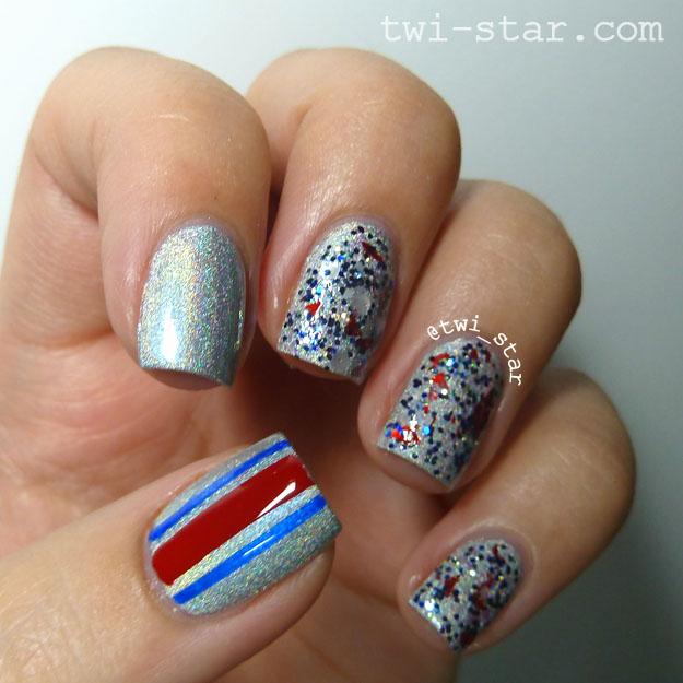 Twi Star Nail Art Blog Buffalo Bills Football Julep Tin Man