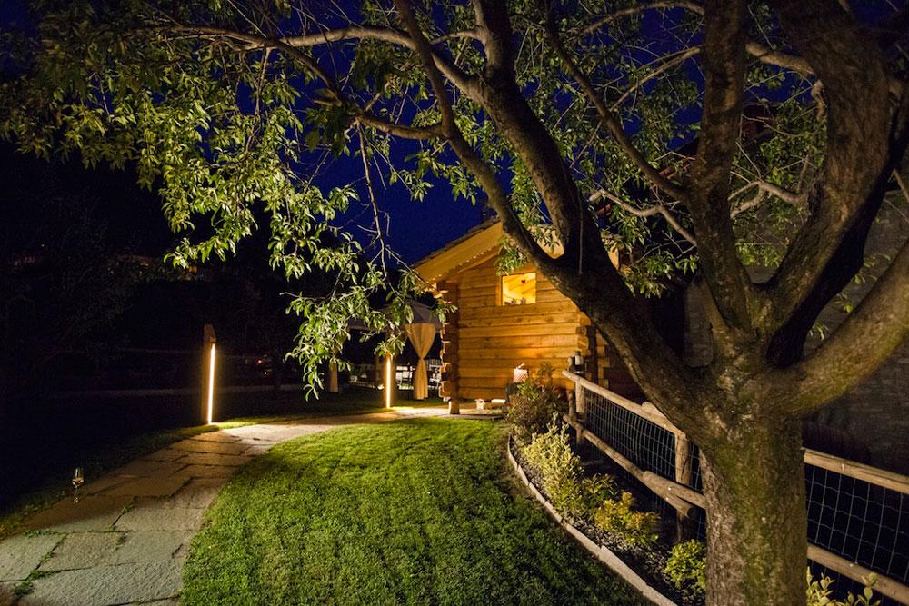 Illuminazione led casa - Illuminare il giardino ...