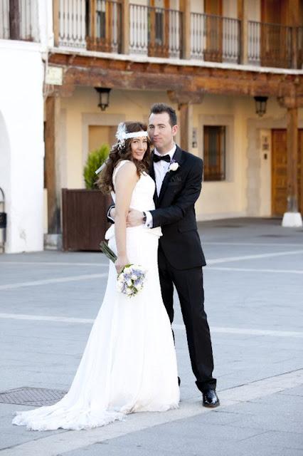 foto tocado de novia novios ojuilla