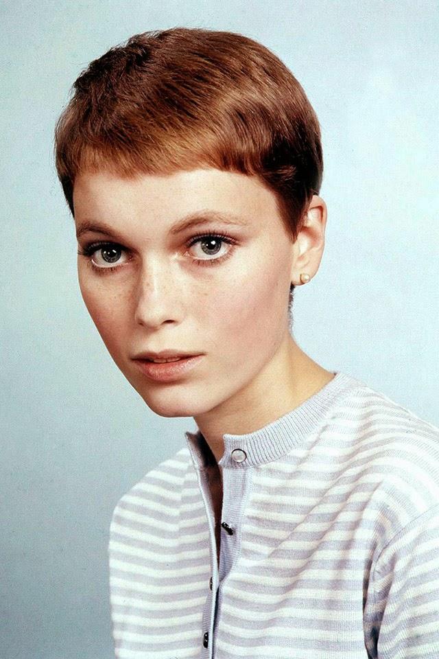 30 Beautiful Portraits of Mia Farrow With Pixie Haircut in ... | 640 x 960 jpeg 144kB