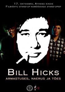 bill hicks, comedy estonia