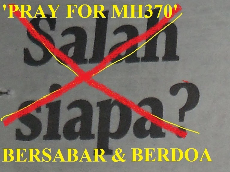 PRAY FOR MH 370