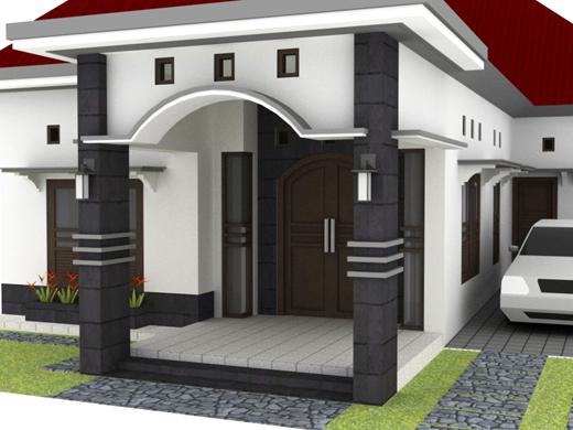 Model Teras Rumah Minimalis Modern