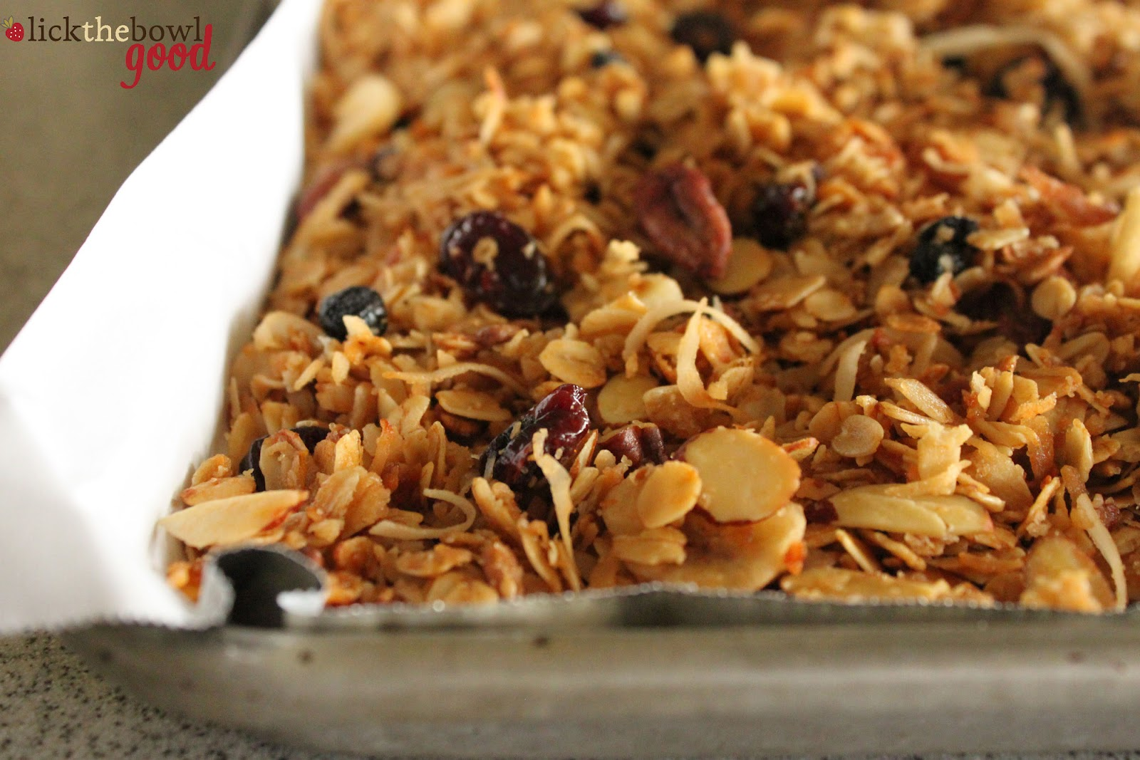 Homemade Granola In Minutes