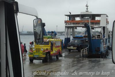 Ride Barge to Samal