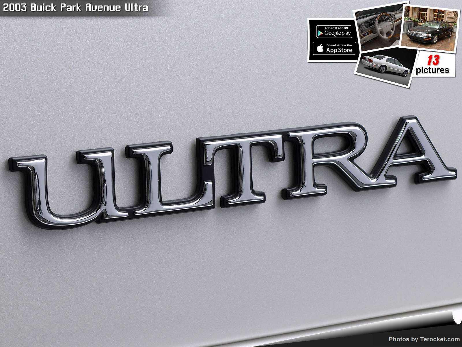Hình ảnh xe ô tô Buick Park Avenue Ultra 2003 & nội ngoại thất