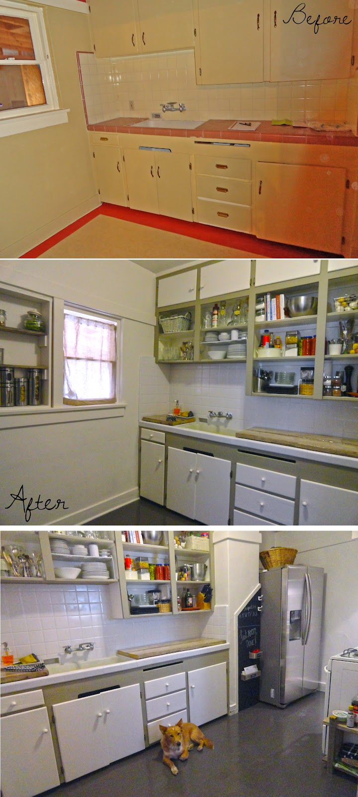It 39 s on the house kitchen remodel on a dime for Kitchen remodel ideas on a dime