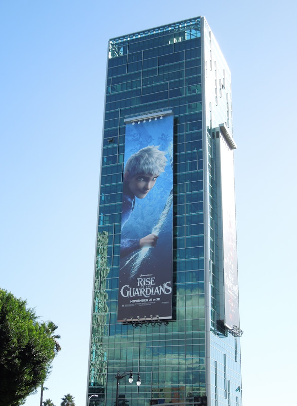 Giant Rise of Guardians billboard Sunset Vine