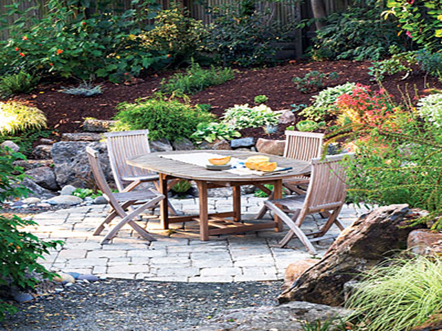 Backyard patio ideas for Outside patio design ideas