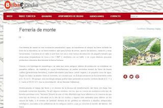 http://www.bilbaopedia.info/ferreria-monte