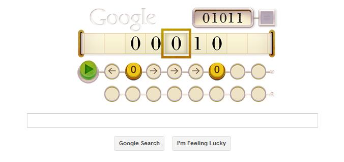 alan turing google doodle
