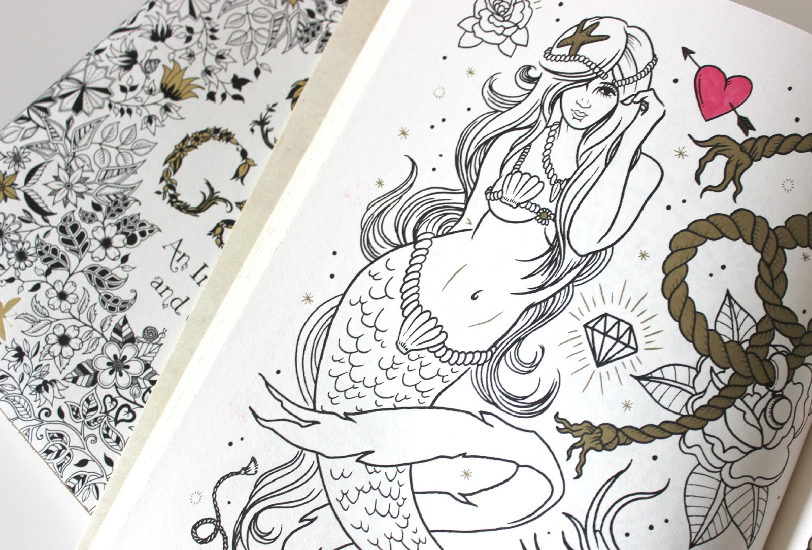 The coloring book tattoo - A Picture Of The Tattoo Colouring Book