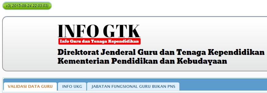 Link Info Ptk Berubah Jadi Gtk Kenapa Tugas Wakil Tidak Diakui Info Pendidikan Terbaru