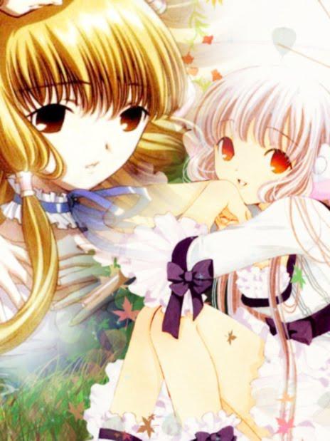 anime chobits girly style