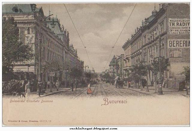 Bulevardul Elisabeta Doamna din Bucuresti
